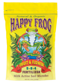 Happy Frog Fruit and Flower