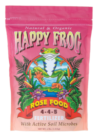 Happy Frog Rose Food